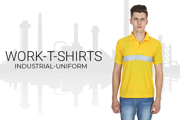 Industrial work t-shirts
