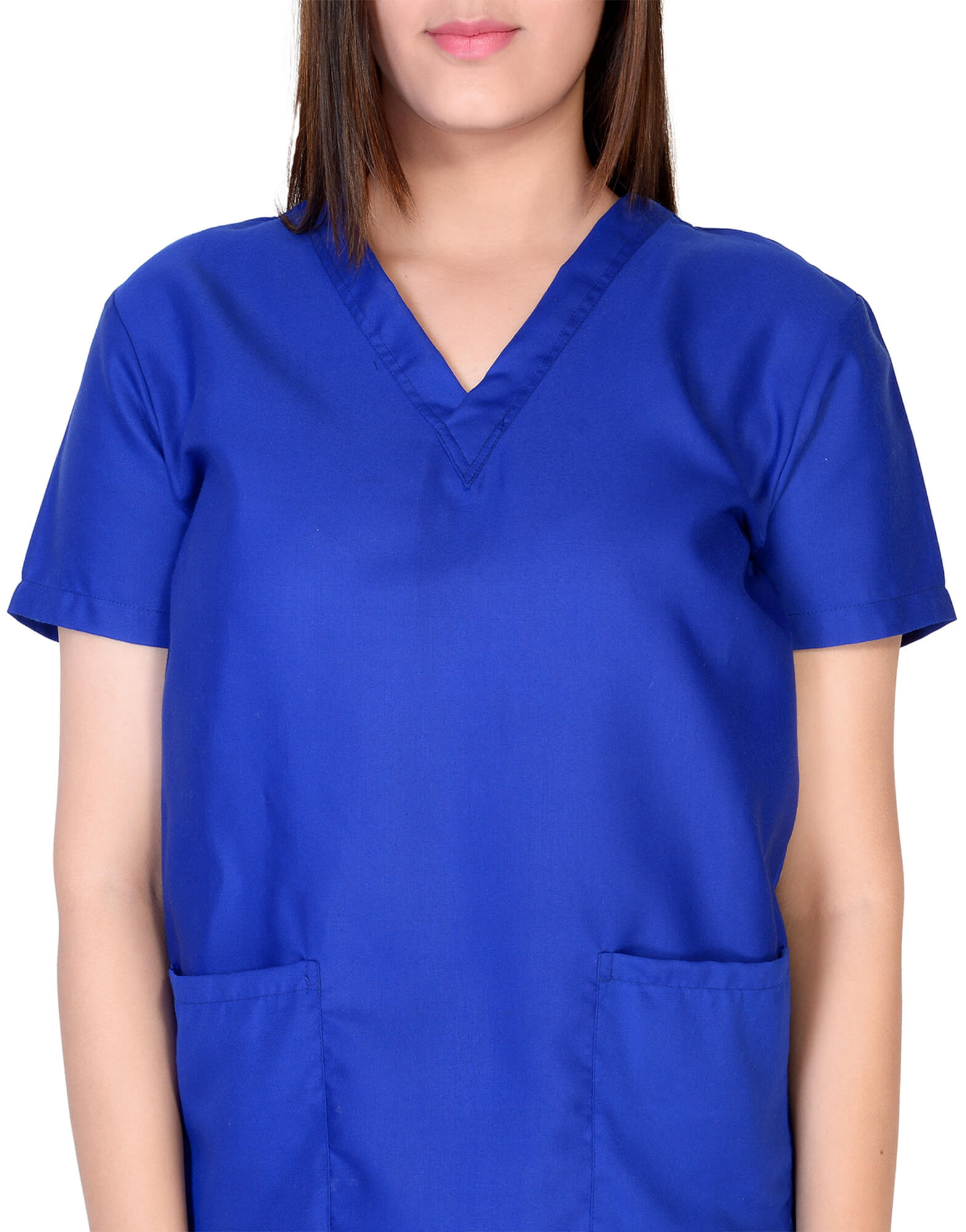 Buy Royal Blue Scrub Tunic For Female Online @ Best Prices ...