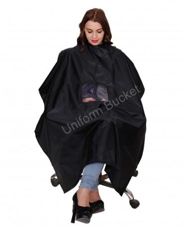 Black Cutting Sheet With Transparent Window Unisex