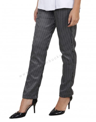 Zebra Pattern Formal Trousers
