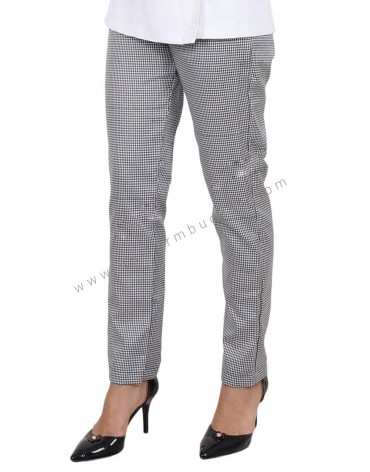 Shepherd Check Formal Trousers