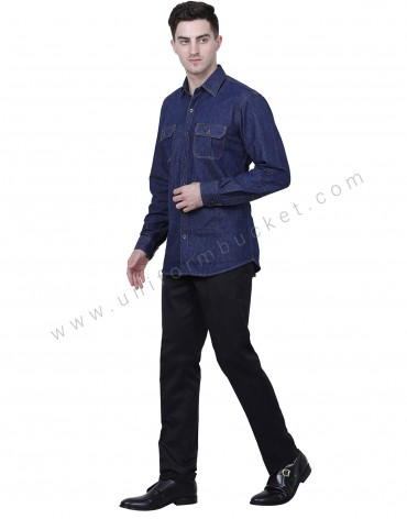 Dark Blue Demin Shirt