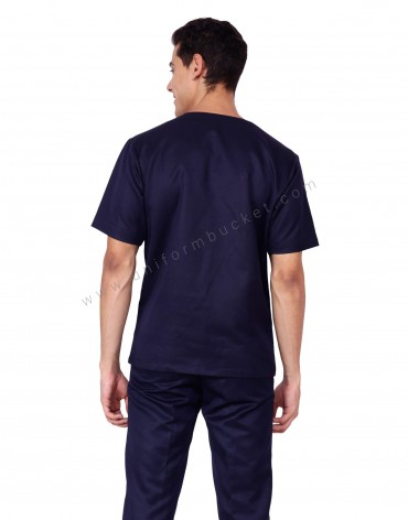 Blue House Keeping Shirt For Men