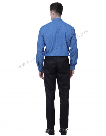 Classic Black Formal Trousers