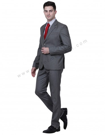 Dark Grey Blazer For Men