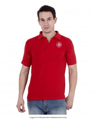 Red Uniform Polo T- Shirt