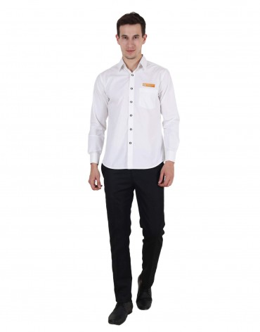 VLCC White Male Shirt
